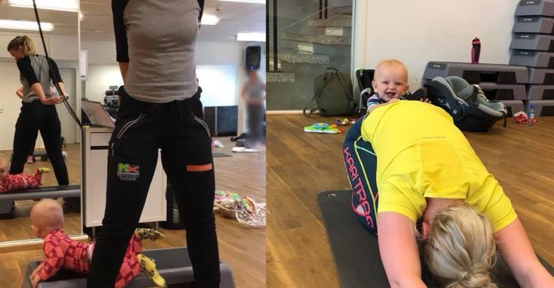 Mor og Barn trening