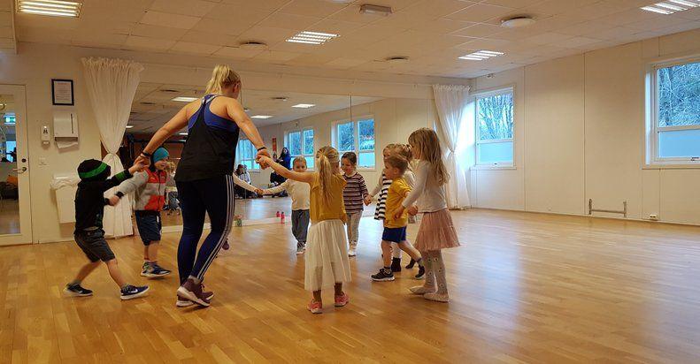 Danseleik - kurs for born 4-6år