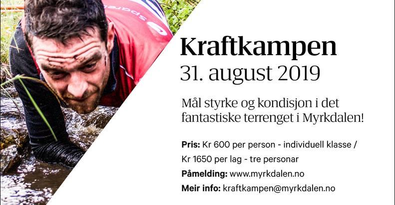 Kraftkampen 31. August 2019